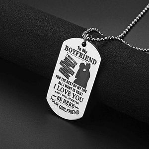 Jewelry - To My Boyfriend Necklace Gift for Valentines Day